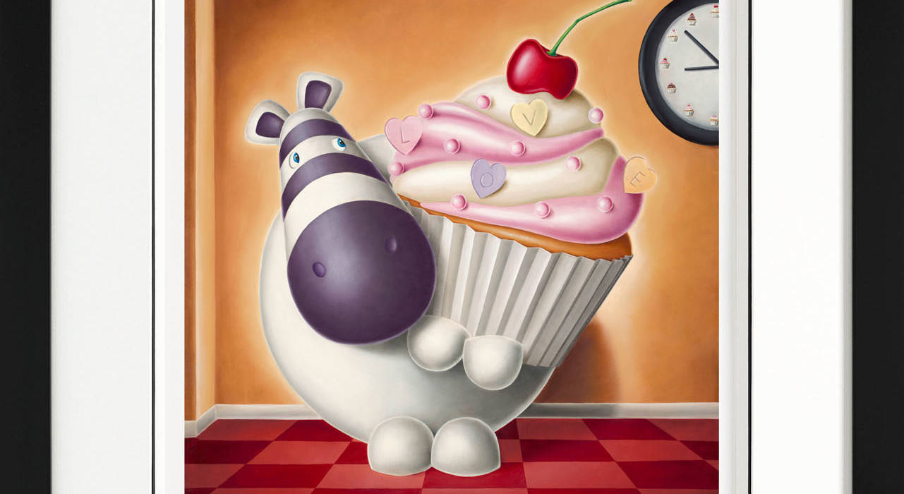Cake O Clock Giclee On Paper Edition Peter Smith Castle Fine Art