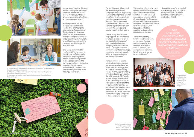 FAC issue 4 spreads Art Therapy 2