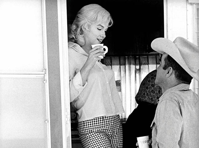 Marilyn with Montgomery Clift resize