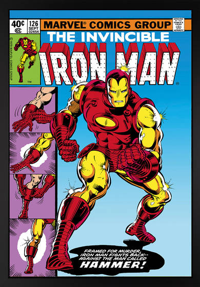 INTERNATIONAL IRON MAN #1 STANDARD COVER